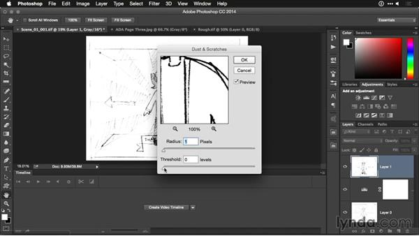 Cleaning up storyboards: Motion Graphics for Video Editors: Working with Storyboards
