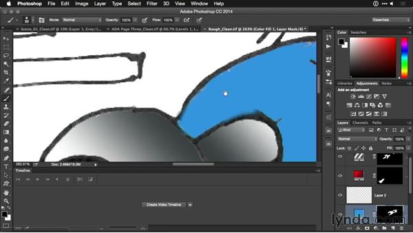 Coloring storyboards: Motion Graphics for Video Editors: Working with Storyboards