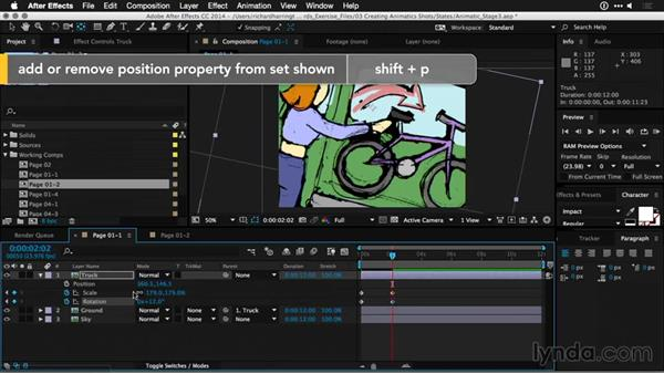 Using anchor points: Motion Graphics for Video Editors: Working with Storyboards