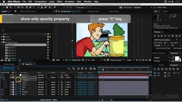 Working with null objects: Motion Graphics for Video Editors: Working with Storyboards
