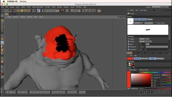 Let's just paint!: Up and Running with Bodypaint in CINEMA 4D