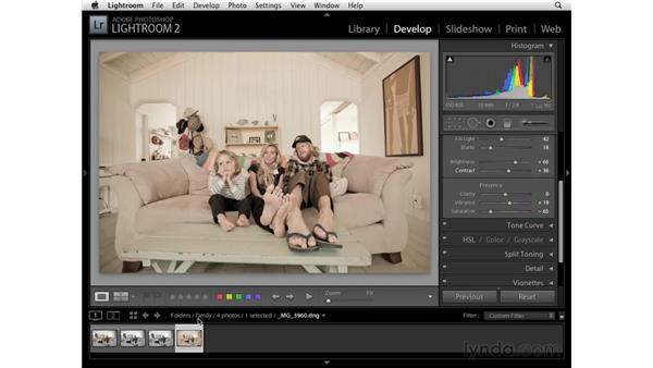 Creating and using virtual copies: Lightroom 2 Essential Training