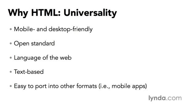 Why HTML?: Creating HTML Layouts with InDesign