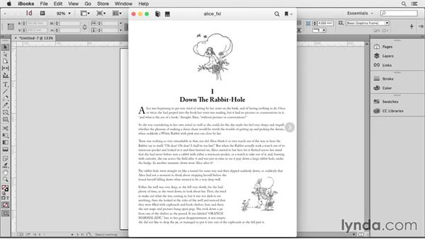 Exploring the EPUB export options available in InDesign: Creating HTML Layouts with InDesign