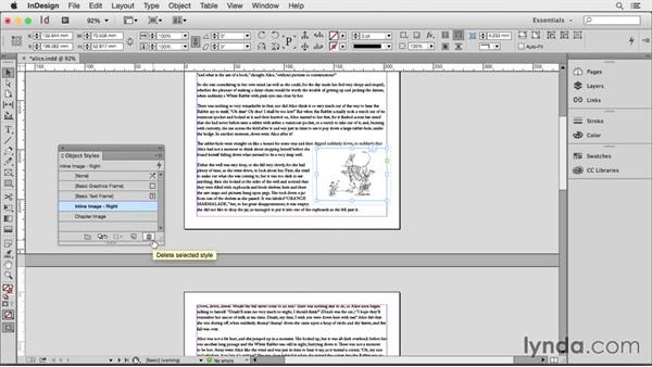 Using object styles: Creating HTML Layouts with InDesign