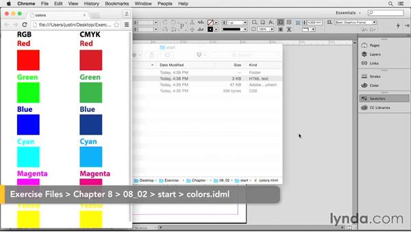 Ensuring proper color conversion: Creating HTML Layouts with InDesign