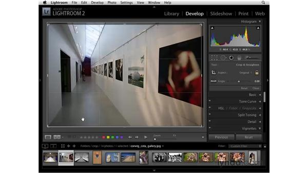 Cropping: Lightroom 2 Essential Training