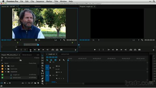 When to trim in the editing process: Premiere Pro Guru: Professional Trimming