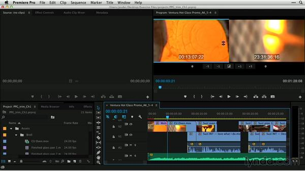 Choosing a trimming technique: Premiere Pro Guru: Professional Trimming