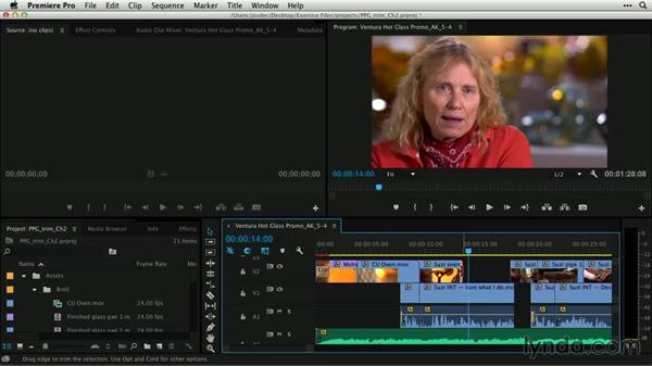 Using the Selection tool: Premiere Pro Guru: Professional Trimming