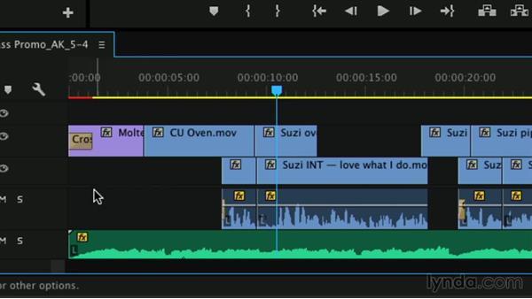 Razor tool: Premiere Pro Guru: Professional Trimming
