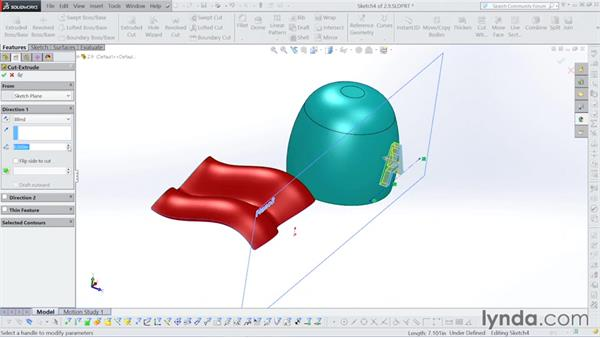 How to offset a surface: Surfacing with SOLIDWORKS