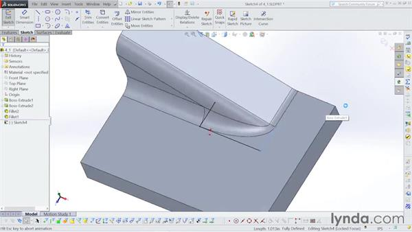 Fixing corners: Surfacing with SOLIDWORKS