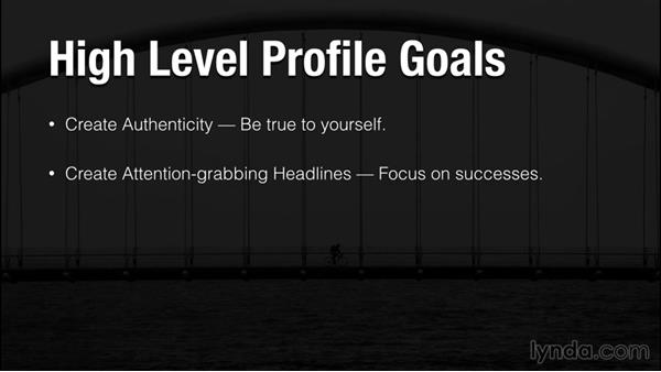 What makes a profile great?