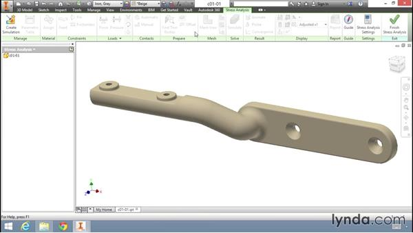 Where are the simulation tools?: Fundamentals of Stress Analysis Tools in Inventor Professional