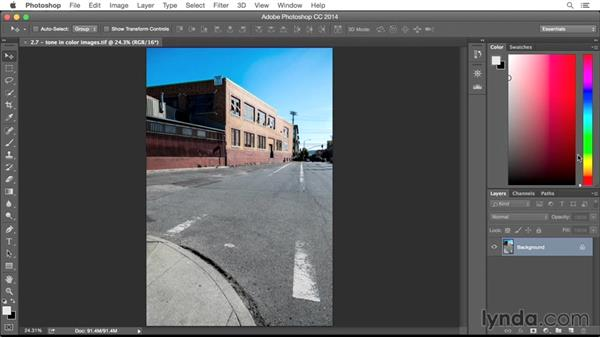 Addressing tone in color images: From Screen to Paper: Improving Your Inkjet Printing Skills