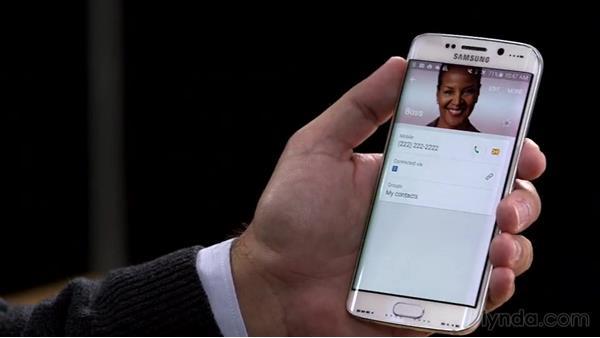 Lollipop menus, simplified: Samsung Galaxy S6 and S6 Edge First Look