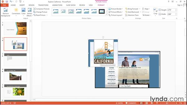 Working with pictures and illustrations: Migrating from Google Apps to Office 2013