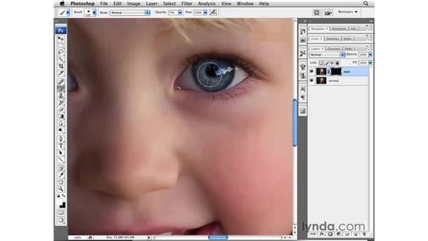 Advanced sharpening in Lightroom and Photoshop: Lightroom 2 Essential Training