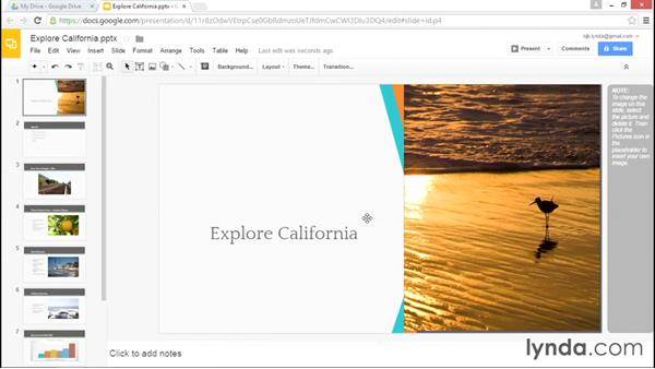 Using Google Drive for storage: Migrating from Google Apps to Office 2013