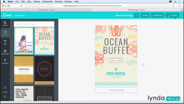 Understanding layouts: Up and Running with Canva