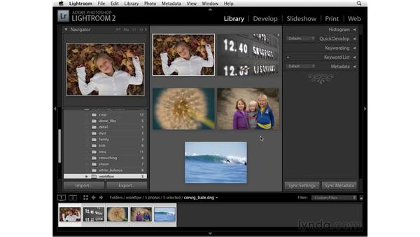 About this chapter: Lightroom 2 Essential Training