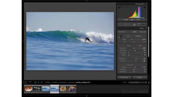Surfing: Cleanup: Lightroom 2 Essential Training