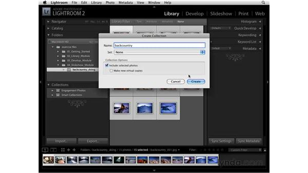 Slideshows and Collections: Lightroom 2 Essential Training