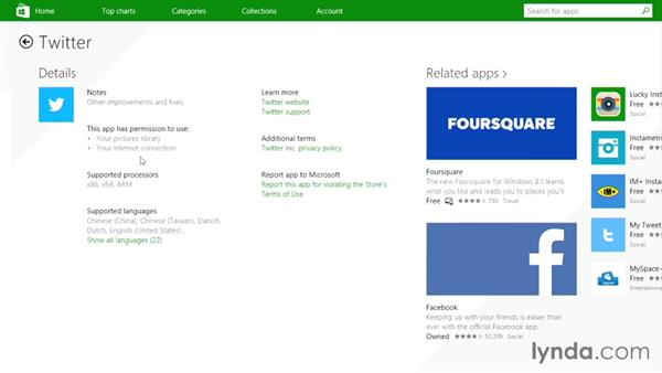 Using the Windows Store to install new apps: Up and Running with Surface 3 and Surface Pro 3