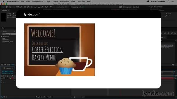 Introduction to this course: Creating an Animated Steam Sprite Sheet with After Effects