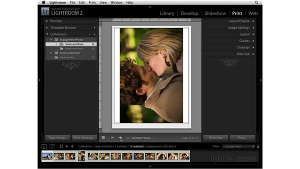 Printing and Collections: Lightroom 2 Essential Training