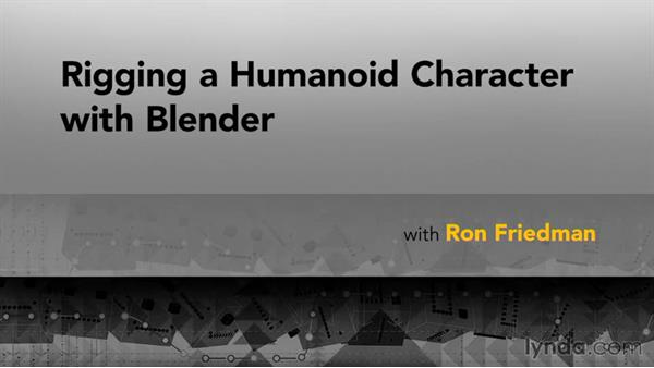 Goodbye: Rigging a Humanoid Character with Blender