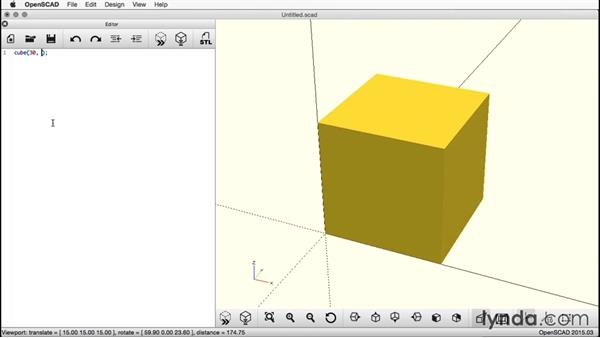 Centering the cube: Creating a Captive Sphere with OpenSCAD