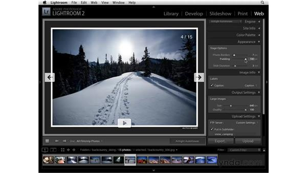 Customizing: Lightroom 2 Essential Training