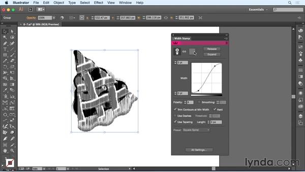 Using custom contours: Up and Running with Astute Graphics for Illustrator
