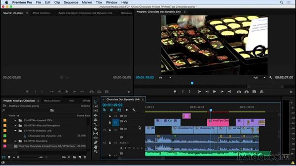 Exploring Dynamic Link techniques between Premiere Pro and After Effects: Video Post Tips Weekly