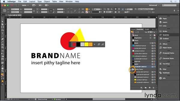 Choosing colors: Designing a Business Card