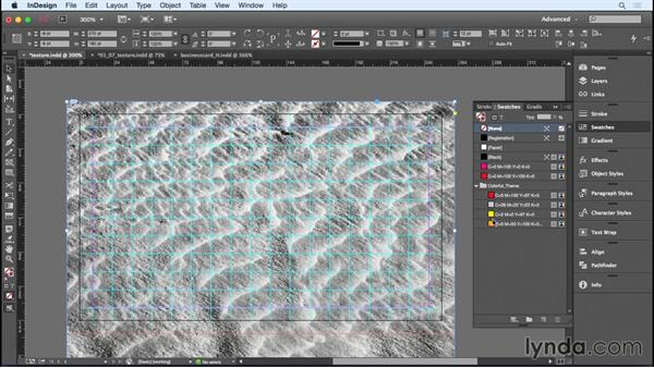 Adding texture: Designing a Business Card