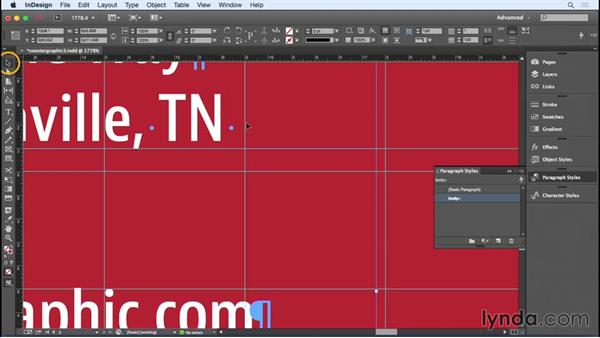 Finessing the type: Designing a Business Card