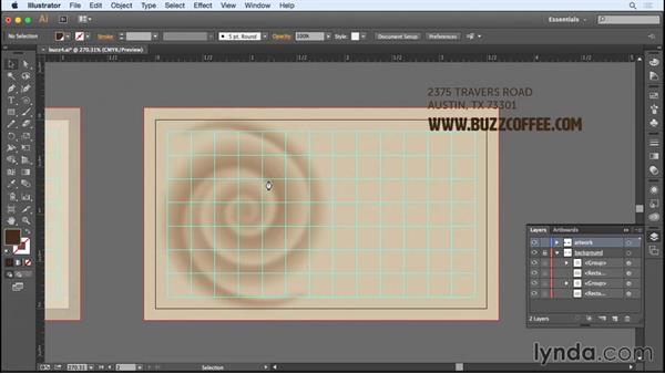 Creating a second artboard for the reverse side: Designing a Business Card