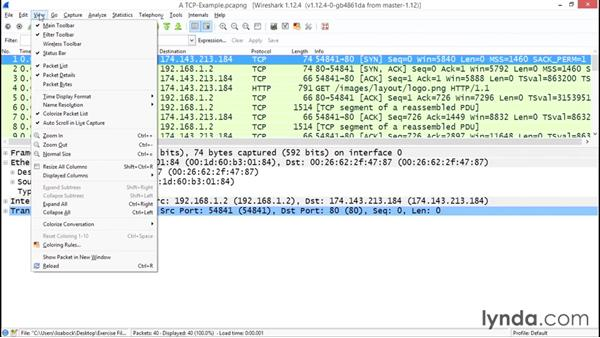 Exploring the Wireshark interface: Troubleshooting Your Network with Wireshark