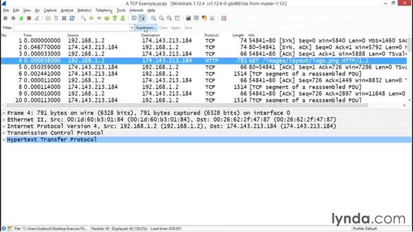Solution: Filtering the data that is displayed: Troubleshooting Your Network with Wireshark