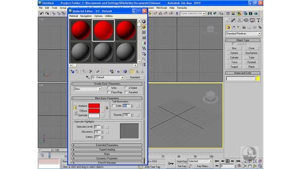 Adding self-illumination: 3ds Max 2009 Beyond the Basics