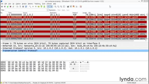 Identifying network scans: Troubleshooting Your Network with Wireshark