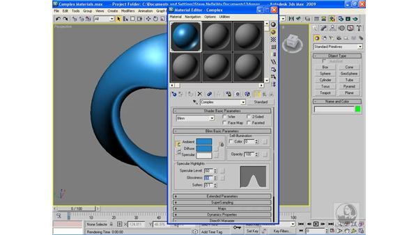 Building a complex material: 3ds Max 2009 Beyond the Basics