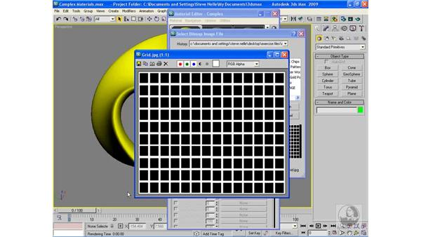Opacity maps: 3ds Max 2009 Beyond the Basics