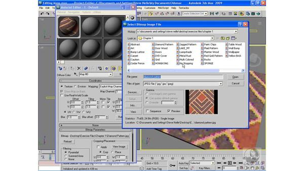 Editing maps: 3ds Max 2009 Beyond the Basics