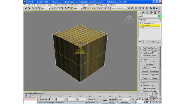 Mapping coordinates: 3ds Max 2009 Beyond the Basics