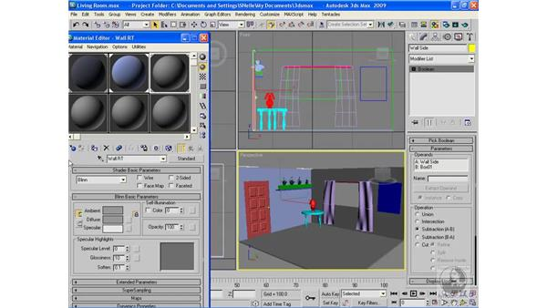 Project: Applying materials to a scene pt. 1: 3ds Max 2009 Beyond the Basics