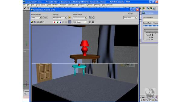 Project: Applying materials to a scene pt. 2: 3ds Max 2009 Beyond the Basics